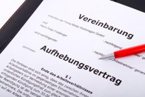 Présentation de la rupture contrat de travail allemand