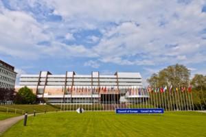 Batiment du Conseil de l'Europe à Strasbourg