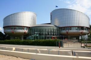 Bâtiment de la Cour Européenne des Droits de l'Homme à Strasbourg