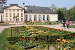 Le parc de l'Orangerie et le Pavillon Joséphine à Strasbourg
