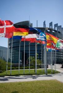 Parlement Européen Allée du Printemps à Strasbourg