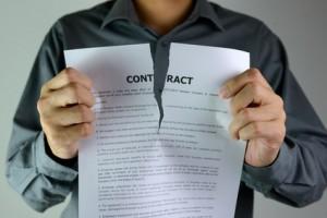 Résiliaiton du contrat du distributeur et délais