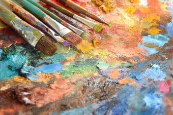 Les droits d'auteur d'un peintre