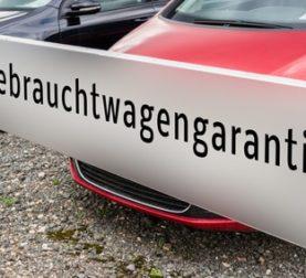 Garantie du concessionnaire allemand sur les voitures d'occasion