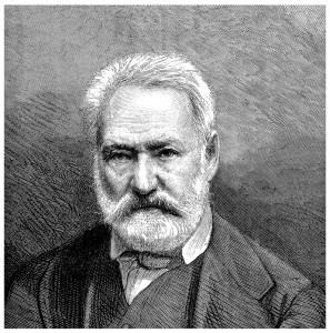 Le droit d'auteur de l'écrivain Victor Hugo