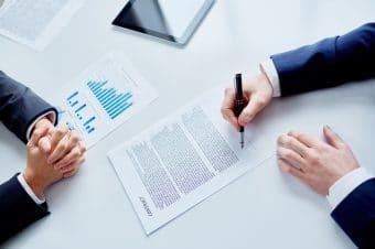 contrat de cession d'entreprise signé