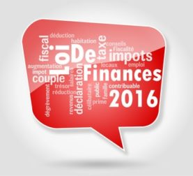 Présentation générale de la loi de finances 2016
