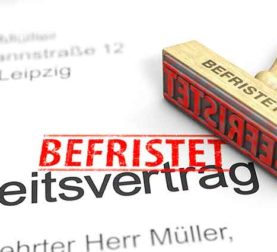 cdd allemand