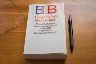 Le Code civil allemand (Bürgerliches Gesetzbuch)
