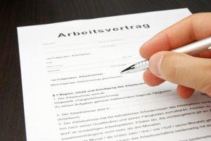 Second contrat de travail allemand