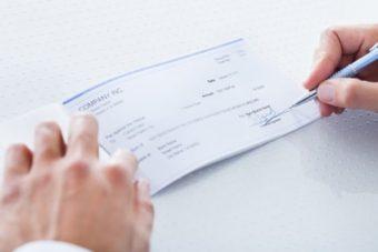 Responsabilité et chèque