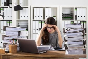Stress au bureau