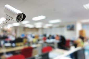 Caméra au bureau